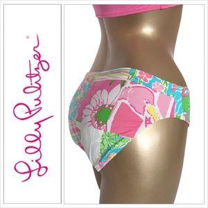 Lilly Pulitzer Patchwork Swimsuit Bikini Bottom